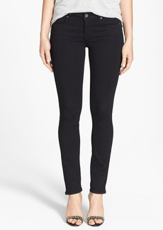 Paige Denim 'Skyline' Skinny Jeans (Black Shadow)