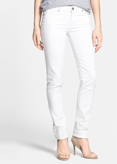 Paige Denim 'Skyline' Skinny Jeans (Optic White)
