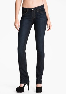 Paige Denim 'Skyline' Straight Leg Stretch Denim Jeans (Stream Wash)