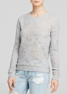 Paige Denim Sweater - Josette in Heather Grey