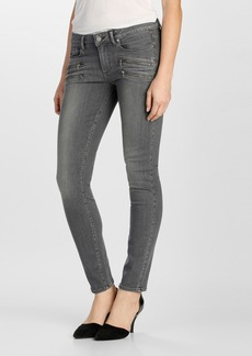 Paige Denim 'Transcend - Edgemont' Ultra Skinny Jeans (Silvie)