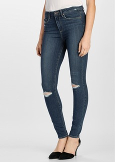 Paige Denim 'Transcend - Hoxton' Ultra Skinny Jeans (Quinnley Destructed)