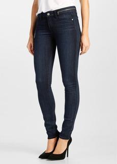 Paige Denim 'Transcend - Jolene' Zip Skinny Jeans (Georgie)