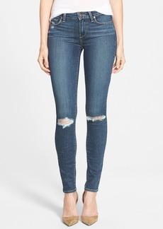 Paige Denim 'Transcend - Verdugo' Ultra Skinny Jeans (Quinnley Destructed)