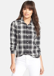 Paige Denim 'Trudy' Plaid Cotton Shirt