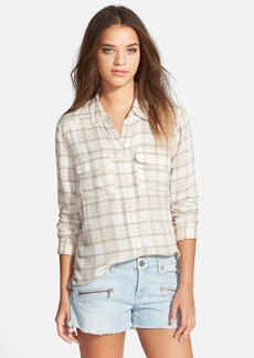 Paige Denim 'Trudy' Plaid Shirt