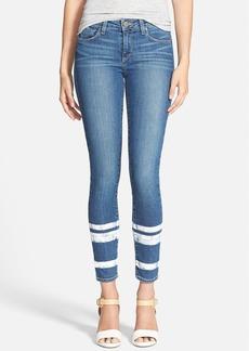 Paige Denim 'Verdugo' Ankle Ultra Skinny Jeans (Painted Stripe)