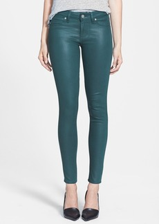 Paige Denim 'Verdugo' Coated Ultra Skinny Ankle Jeans (Forest Silk)