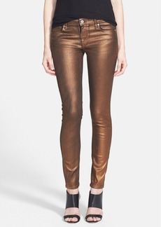 Paige Denim 'Verdugo' Coated Ultra Skinny Jeans (Copper Galaxy)