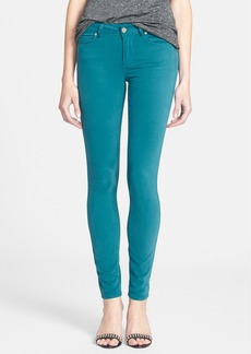 Paige Denim 'Verdugo' Ultra Skinny Jeans (Deep Turquoise)