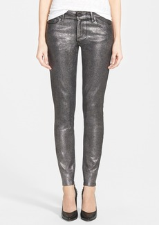 Paige Denim 'Verdugo' Ultra Skinny Jeans (Pewter Crackle)