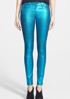 Paige Denim 'Verdugo' Ultra Skinny Jeans (Turquoise Crackle)