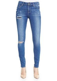 Paige Denim Verdugo Ultra-Skinny Torn Jeans, Carmen Tear