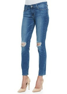 Verdugo Ankle Jeans with Distressed Knees   Verdugo Ankle Jeans with Distressed Knees