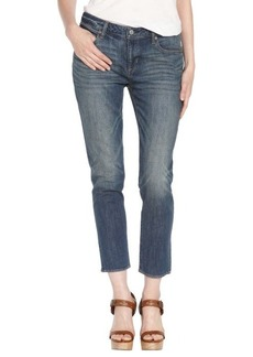 Paper Denim & Cloth 1994 - 2 year medium blue '718' skinny slouch cropped jeans