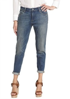 Paper Denim & Cloth 1994 blue cotton blend skinny slouch cropped jeans