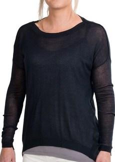 Paper Denim & Cloth Empire Sweater - Rayon-Silk, Boat Neck (For Women)