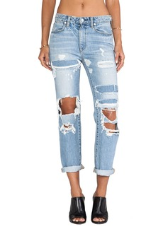 Paper Denim & Cloth High Rise Straight Leg