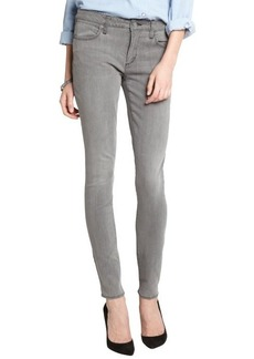 Paper Denim & Cloth light grey stretch cotton blend skinny jeans