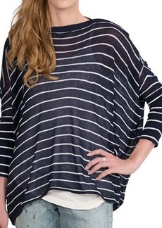 Paper Denim & Cloth Logan Sweater - Boat Neck, 3/4 Sleeve (For Women)