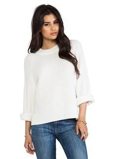 Paper Denim & Cloth Olive Sweater in Cream