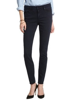 Paper Denim & Cloth royal carbon blue stretch cotton blend skinny jeans