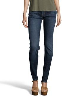 Paper Denim & Cloth selvedge paper dark wash 'Mod Classic Skinny' jeans