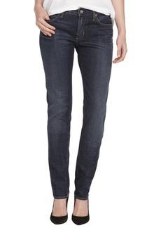 Paper Denim & Cloth Selvedge paper wash dark 'mod classic 5' skinny jeans