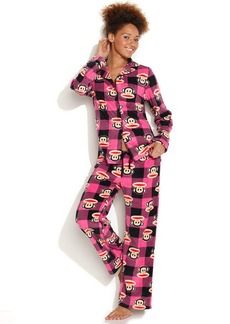 Paul Frank Essentials Notch Collar Pajama Set