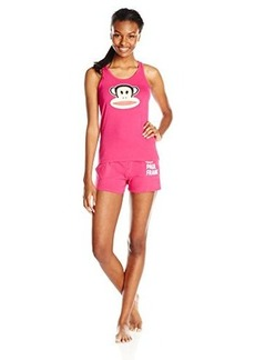 Paul Frank Women's Julius Short Pajama Set Pink