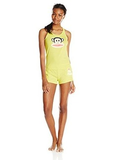 Paul Frank Women's Julius Short Pajama Set Yellow