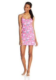 Paul Frank Women's Logo Printed Chemise Pink