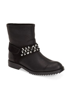 Pedro Garcia 'Kian' Embellished Moto Boot (Women)