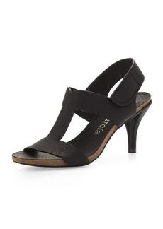 Pedro Garcia Marlen T-Strap Sandal, Black