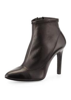 Pedro Garcia Roberta Leather Ankle Bootie, Black