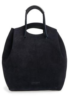 Pedro Garcia Suede Drawstring Bucket Bag