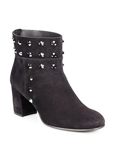 Pedro Garcia Xander Studded Suede Ankle Boots