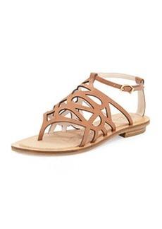 Pelle Moda Bea Cutout Sandal, Luggage