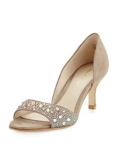Pelle Moda Cecil Evening Dress Sandal, Taupe Dark