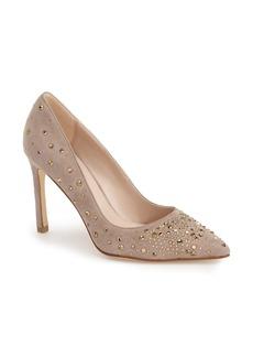 Pelle Moda 'Duran' Crystal Embellished Pointy Toe Pump (Women)