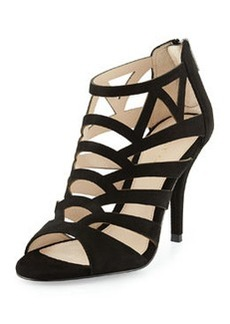 Pelle Moda Elham Evening Sandal, Black