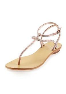 Pelle Moda Ellie Strappy Embellished Sandal, Blush