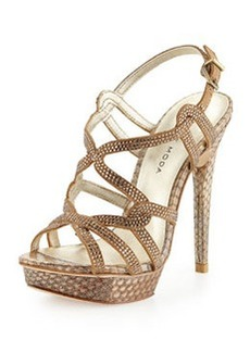 Pelle Moda Flirt Evening Sandals, Burlywood