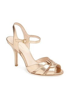 Pelle Moda 'Gypsy' Metallic Leather Sandal