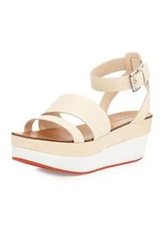 Pelle Moda Hadi Leather Platform Sandal, Sand