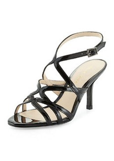 Pelle Moda Idan Strappy Evening Sandal, Black