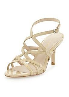 Pelle Moda Idan Strappy Evening Sandal, Petal