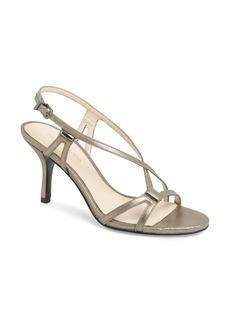 Pelle Moda 'Iva' Strappy Shimmer Sandal (Women)