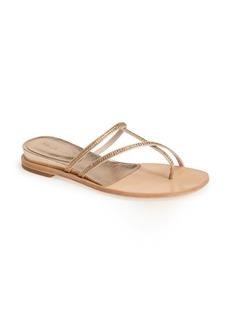 Pelle Moda 'Neka' Crystal Embellished Wedge Sandal (Women)