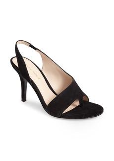 Pelle Moda 'Oslo' Suede Asymmetrical Thong Sandal (Women)